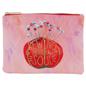 Sewing Mends the Soul Glam Bag