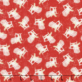 Shoreline - Chairs Red Yardage