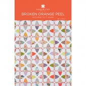 Broken Orange Peel Quilt Pattern by MSQC