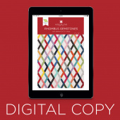 Digital Download - Rhombus Gemstones Quilt Pattern by Missouri Star