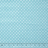 To the Moon & Back - Dots Blue Yardage