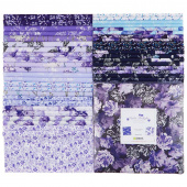 "Violet Twilight Pearlized 10"" Squares"