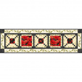 Scarlet Dance Table Runner Kit
