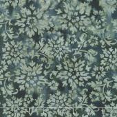Floragraphix Batiks 4 - Charcoal Garden Yardage