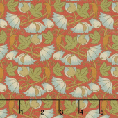 Voysey - Perching Birds 1900 Russet Yardage