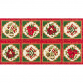 Holiday Flourish 11 - Holiday Metallic Panel