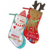Huggable & Lovable Books - Holiday Stockings Panel