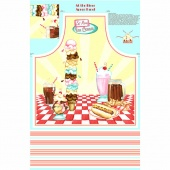 At the Diner - Apron Multi Panel