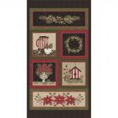 Winterberry - Wintergreen Holly Multi Panel