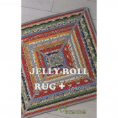 Jelly Roll Rug Plus Pattern