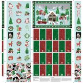 Camp Joy - Advent Calendar Multi Panel