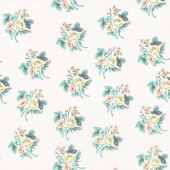 Splendor - Bouquet Cream Yardage