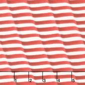America the Beautiful - Waving Stripes Barnwood Red Yardage