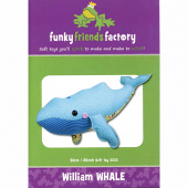 William Whale Funky Friends Factory Pattern