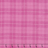 Primo Plaids - Pink Plaid Yarn Dyed Flannel Yardage