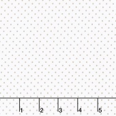 Swiss Dot - Swiss Dot Gray on White Yardage