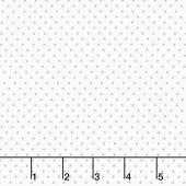 Swiss Dot - Swiss Dot Gray on White Yardage