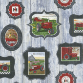 Farmall - Hometown Life Frames Fray Yardage
