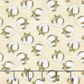 Love 4 Cotton - Mini Cotton Balls Ivory Yardage