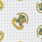 Wizarding World - Harry Potter Hogwarts Houses Flannel Yardage