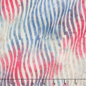 Tonga Batiks - Freedom Flag Waves Yardage