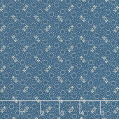 Mood in Blue - Little Circles Blue Yardage