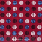 Patriotic Pride - Dot Red Yardage