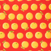 Kaffe Fassett Collective - February 2020 Warm Oranges Yellow Yardage