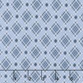 Sorbet - Criss Cross Blue Yardage