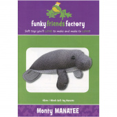 Monty the Manatee Funky Friends Factory Pattern