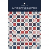 Super Simple Squares Quilt Pattern by MSQC