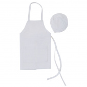 Wine Bottle Apron with Chef Hat
