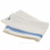 Tea Towel - Vintage 1930's Blue Striped Towel