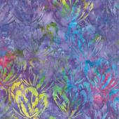 Tonga Batiks - Aruba Hibiscus Passion Yardage
