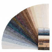 "Tonga Treats Batiks - Colorwheel Earth 2.5"" Strips"