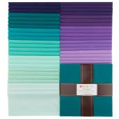 Kona Cotton - Aurora Palette Ten Squares