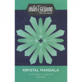 Krystal Mandala Pattern from Man Sewing