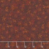 Itty Bitty - Stars Red Yardage