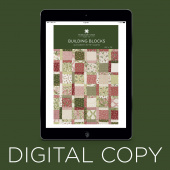 Digital Download - Building Blocks Quilt Pattern by Missouri Star