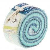 Cotton + Steel Basics Ocean Spindle Strips