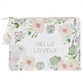 Lovely Garden Floral Glam Bag