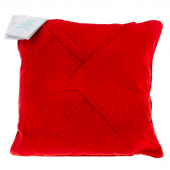 Easy as 1-2-3 Embroidery Pillow - Red