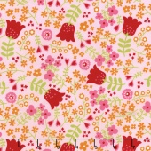 Happy Day - Happy Main Pink Yardage