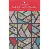 Sashed Half-Hexagon Pattern by Missouri Star