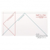 Missouri Star Large Simple Wedge Template for 10