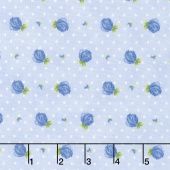 June's Cottage - Rosebud Raindrop Yardage