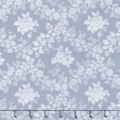 Charming - Charming Rose Blue Yardage
