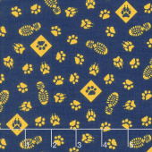 Cub Scouts - Cub Scouts Paws Navy Yardage