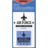Air Force Laser Silhouette Precut Fused Appliqué Pack