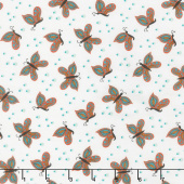 Gypsy - Butterfly Cream Yardage